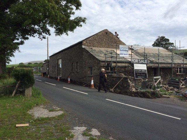 Folly Barn During October 2018
